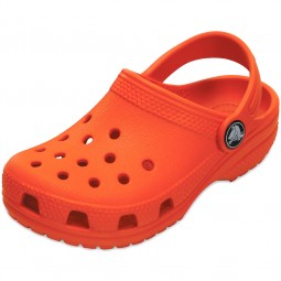Crocs Classic Kids Kinder Clogs orange (tangerine)