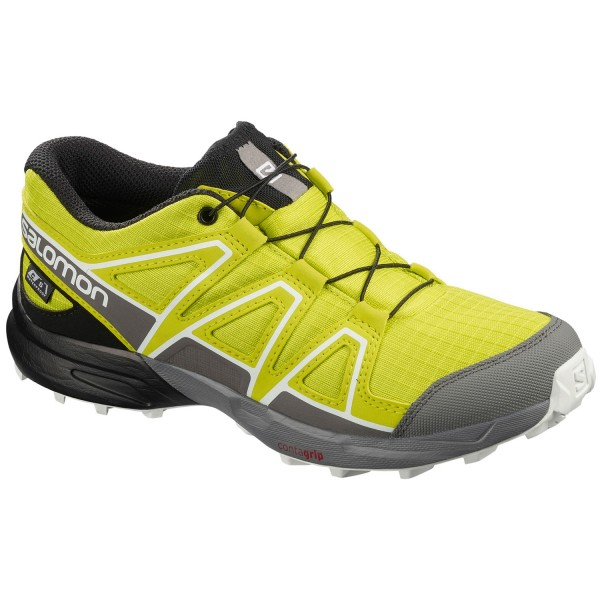Salomon Speedcross CSWP J Kinder Trail-Laufschuhe evening primrose/quiet shade/black
