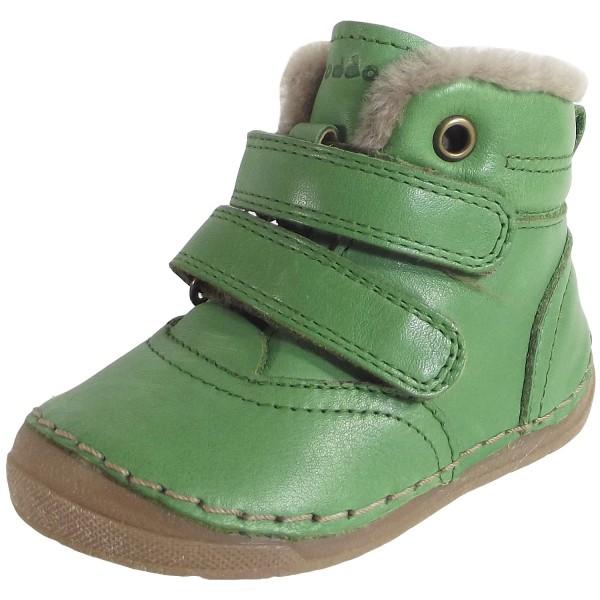 Froddo Lammfell Stiefelette Kinder Winterstiefel grün (green)