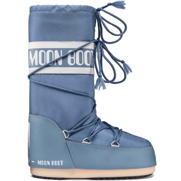 Moon Boot Nylon Damen Moonboots Stone Wash