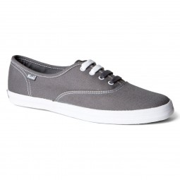 Keds Champion Canvas Damen Sneaker steel grey