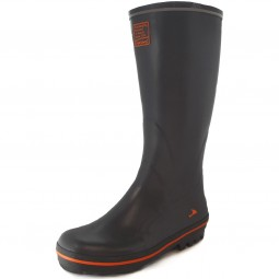 Viking Tracker Gummistiefel grey/orange