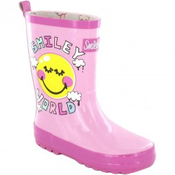 Be Only Smiley Cloud Mädchen Gummistiefel rosa/pink (rose)