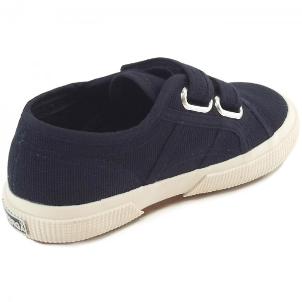 Superga 2750 Junior Velcro Classic Kleinkinder Sneaker dunkelblau (navy) 2