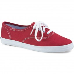 Keds Champion Canvas Damen Sneaker red