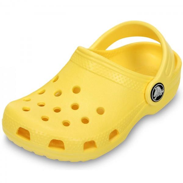 262d10ab8 Crocs Classic Kids Kinder Clogs gelb (lemon)