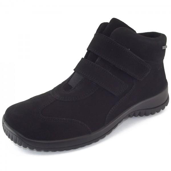 Legero Gore-Tex Softboot Klett Damen Sneaker-Stiefel schwarz