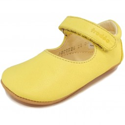 Froddo Prewalkers G1140001 Baby Mary Jane gelb (yellow)