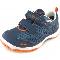 Viking Gore-Tex Cascade GTX Kinder Outdoor-Schuhe navy/blau (navy/blue)