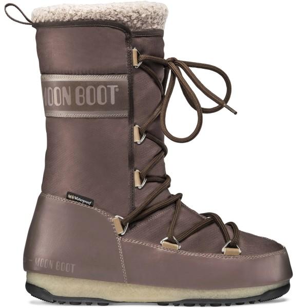 Moon Boot Monaco Wool WP Damen Winterstiefel Mud Brown