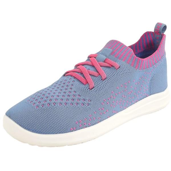 Richter Strick Melody Mädchen Sneaker Blau/Pink