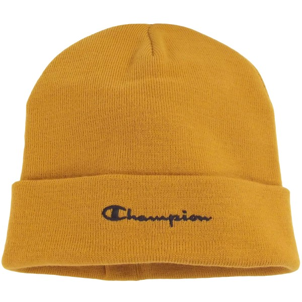 Champion Beanie Cap Unisex Mütze Orange (ABZ)