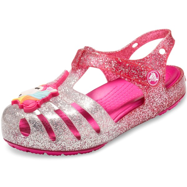 9aac2da4cd61 Crocs Isabella Charm Mädchen Sandale pink ombre
