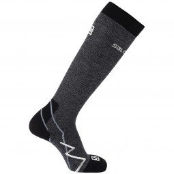 Salomon X Alp Unisex Bergsteiger Socken black/white