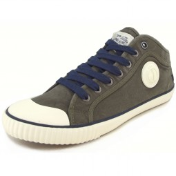 Pepe Jeans Industry MC Herren Sneaker olivgrün (stout)