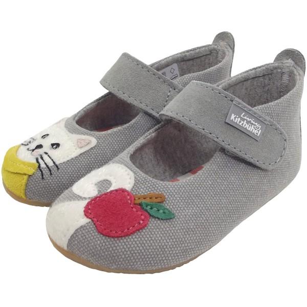 Living Kitzbühel 3506 Babyballerina Girl Slippers grey (zement)