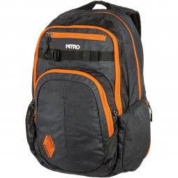 Nitro Chase Unisex Rucksack blur-orange trims