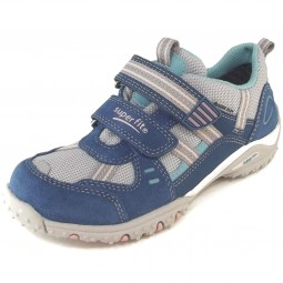 Superfit Gore-Tex Sport4 Mädchen Sneaker blau/türkis/rosa (denim/kombi)
