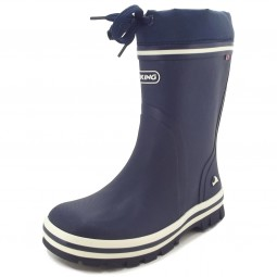 Viking New Splash Vinter Kinder Winter-Gummistiefel dunkelblau (navy)