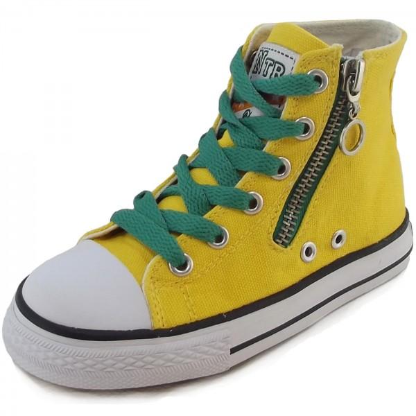 Naturino 2540 Canvas Sneaker gelb (giallo)