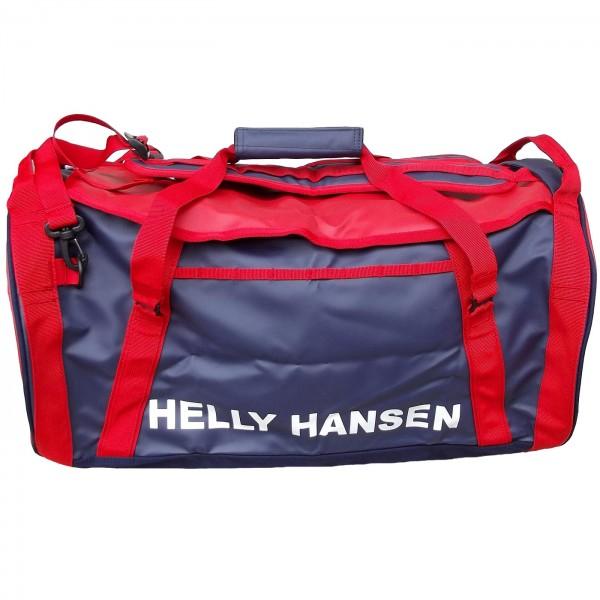 782d793a59f8 Helly Hansen Duffle Bag 2 50L Unisex Sporttasche dunkelblau rot (navy red)