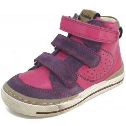 Froddo G2110043 Mädchen High Top Sneakers pink/violett/gold (fuchsia)