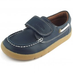 Bobux I-Walk Dockside Kleinkinder Lauflern-Schuhe marineblau