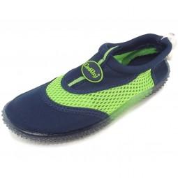 Conway Aqua Kinder Aqua-Schuhe dunkelblau/grün