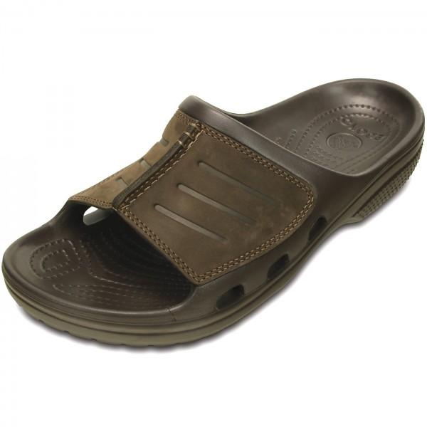 27f1383ab Crocs Yukon Mesa Slide Herren Pantolette braun (espresso espresso)