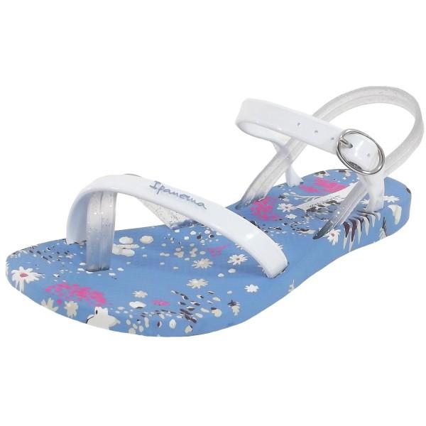 Ipanema Fashion Sandal VI Kids Mädchen Zehensandale hellblau/weiß (blue/white)