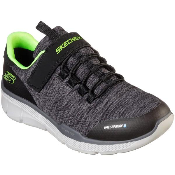 Skechers Equalizer 3.0 Aquablast Jungen Sneaker schwarz/grau (black/charcoal)
