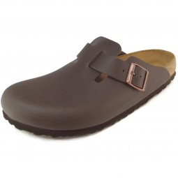 Birkenstock Boston Herren Clogs dunkelbraun