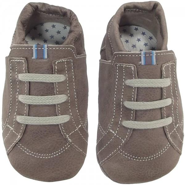 Anna und Paul Streetwear Kleinkinder Krabbelschuhe stein 2