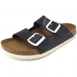 Birkenstock Arizona Soft Footbed SL Unisex Sandale schwarz (black)