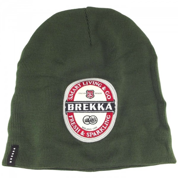 Brekka Beer Beanie Herren Mütze grün (army)