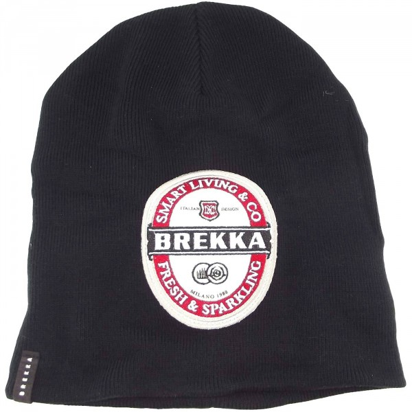 Brekka Beer Beanie Herren Mütze schwarz (black)