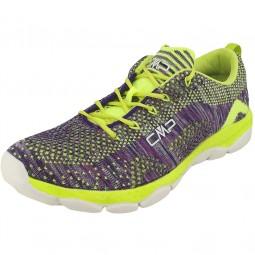 CMP Butterfly Nebula Damen Fitness-Sneaker violett/lime (malva/acido)