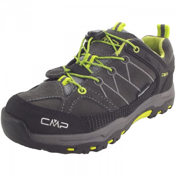 CMP Kids Rigel Low Kinder Trekkingschuhe grau (teak/asphalt)