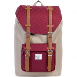 Herschel Little America Mid-Volume Unisex Rucksack brindle/windsor wine