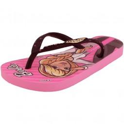 Ipanema Barbie Style Kids Mädchen Zehensandale pink/schwarz (pink/black)