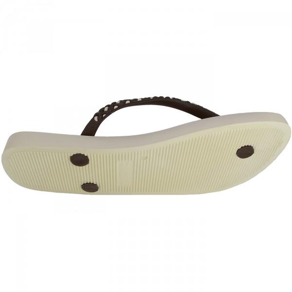 Ipanema Fashion Fem Damen Zehenstegsandale beige/braun (beige/brown) 3