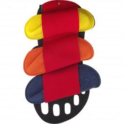 Kitz-Pichler Happy Set Unisex Gästepantoffeln mehrfarbig