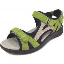 Legero Siris Damen Sandale grün/schwarz (kiwi)