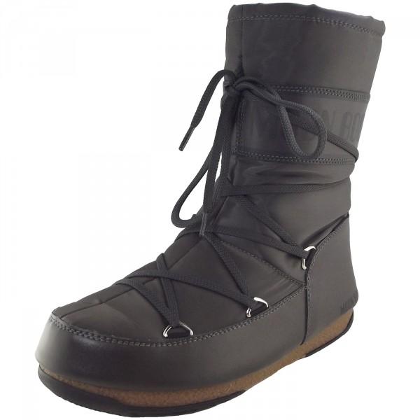 Moon Boot W.E. S.Shade Mid Damen Winterstiefel anthrazit