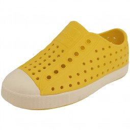 Native Shoes Jefferson Child Kinder Slipper gelb (crayon yellow/bone white)