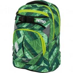 Nitro Superhero Unisex Schul-Rucksack grün (wicked green)