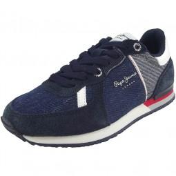 Pepe Jeans Sydney Soul Kinder Sneaker blau/jeans (navy)
