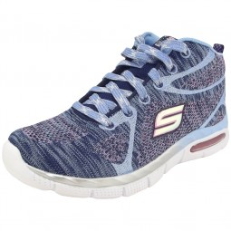 Skechers Air Appeal Breezin By Mädchen Trainingssneaker hellblau (navy/periwinkle)