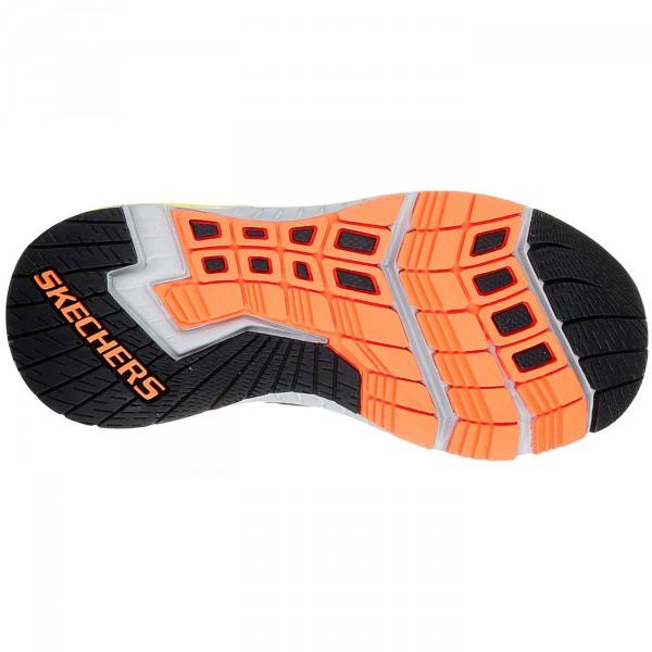 Skechers Hyperjolt Spectrode Jungen Sneaker charcoal/black/lime 4