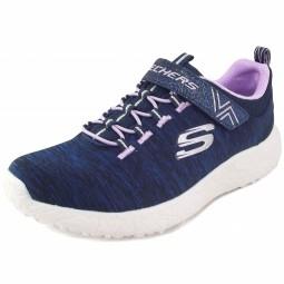 Skechers Burst Equinox Mädchen Trainingsschuhe dunkelblau/lila (nvy/lavendar)